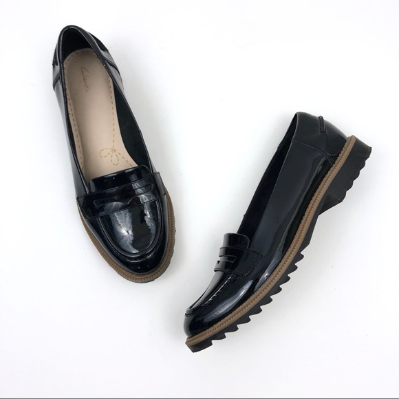 Clarks Shoes   Clarks Patent Leather